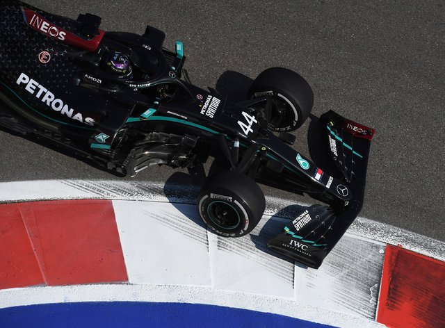 Lewis Hamilton was only 19th in first practice at the Sochi Autodrom
