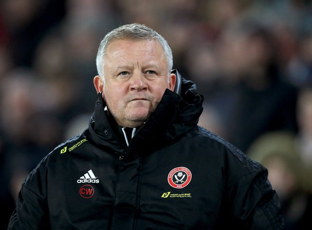 Chris Wilder has backed calls for the Premier League to provide financial support to lower league clubs (Mike Egerton/PA)
