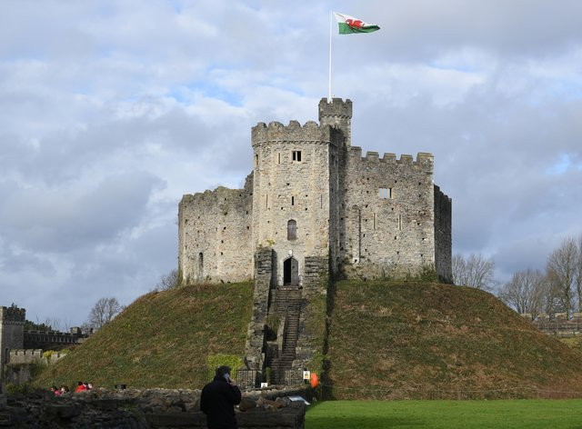 Cardiff Castle in Cardiff, Wales (Ben Birchall/PA)