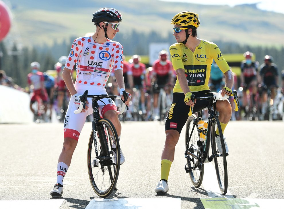 Tour de France winner Pogacar says it 'would be a fairytale' for countryman Roglic to win world ...