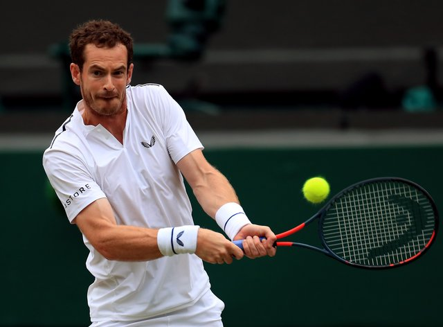 Andy Murray is playing in Paris for the first time since 2017