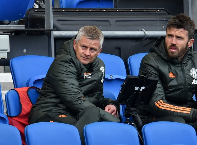Manchester United manager Ole Gunnar Solskjaer (left) admitted his side were not at their best
