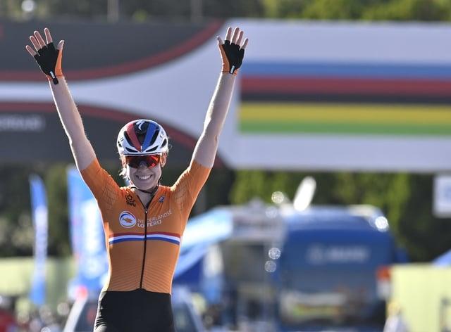Anna van der Breggen wins women's road race