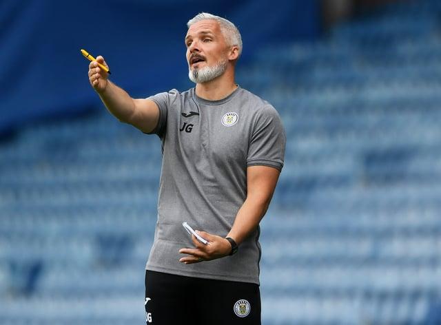 Jim Goodwin is confident St Mirren will improve