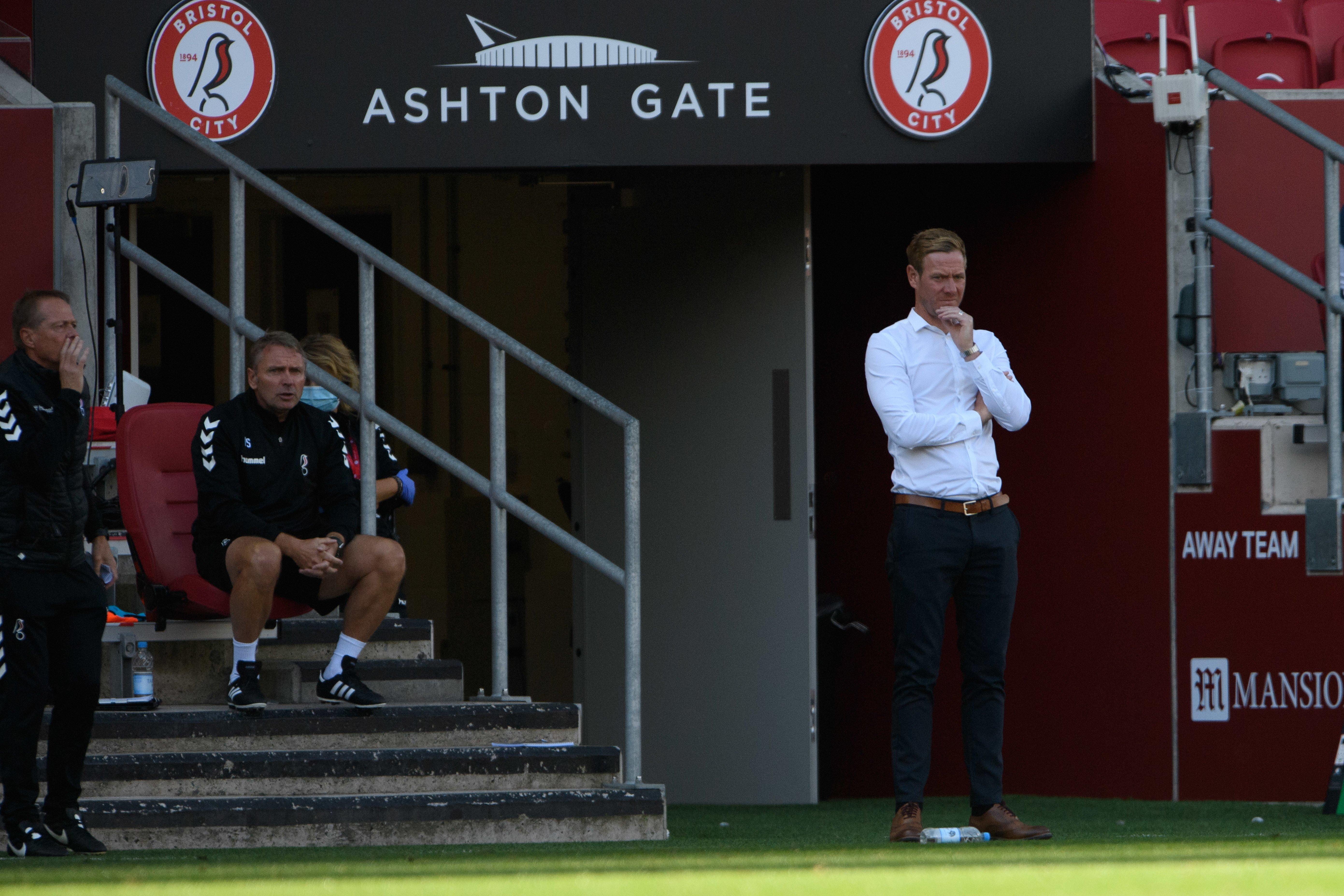 Dean Holden urges Bristol City fans to enjoy top spot