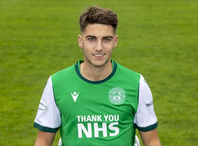 Ben Stirling has left Hibs for Hamilton