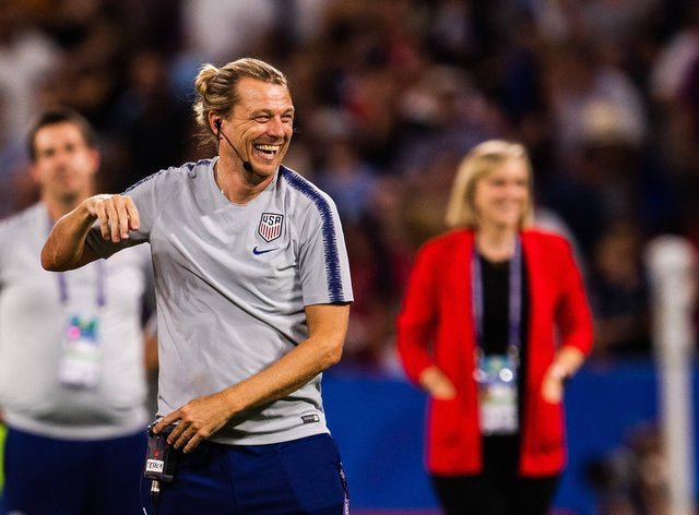 Gustavsson is a former USWNT assistant coach