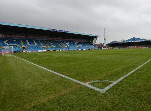 Carlisle's Brunton Park ground
