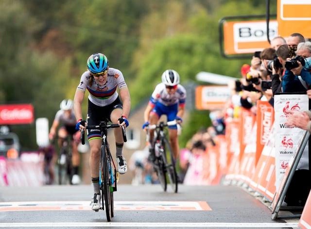 Van der Breggen has won La Fleche Wallone every year since 2015