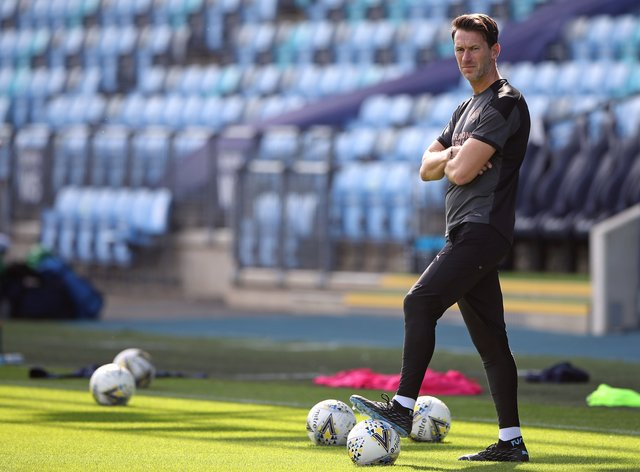 Taylor has said City's encounter with Arsenal will be a 'good test'