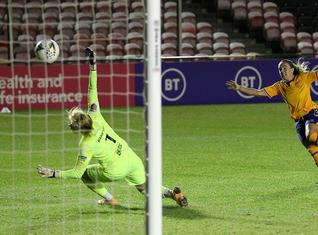 Magill's goal helped Everton on their way to the FA Cup final