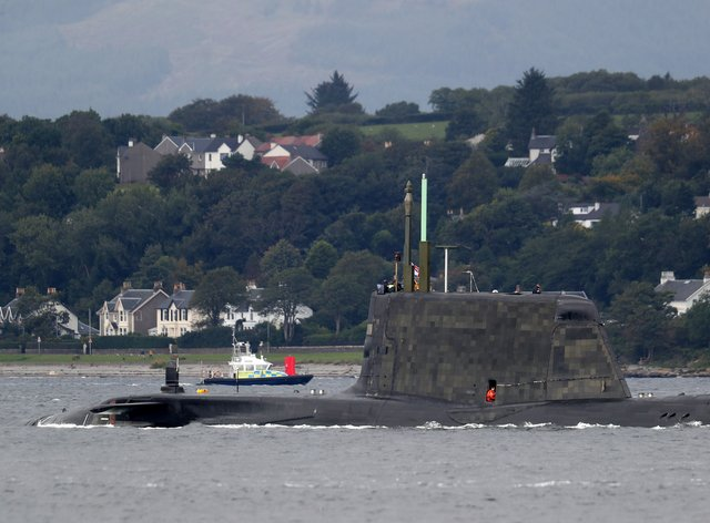 Submarine in Holy Loch
