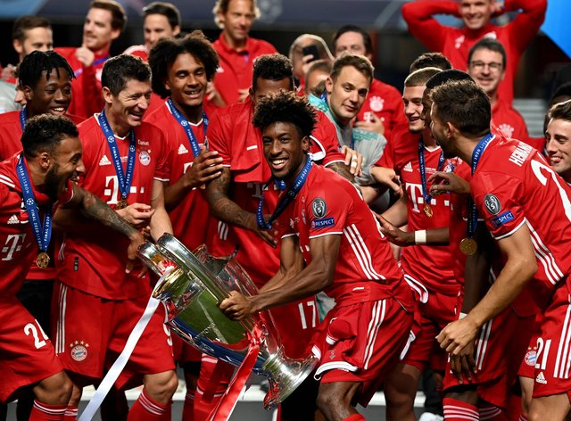 Bayern are the current Champions League holders
