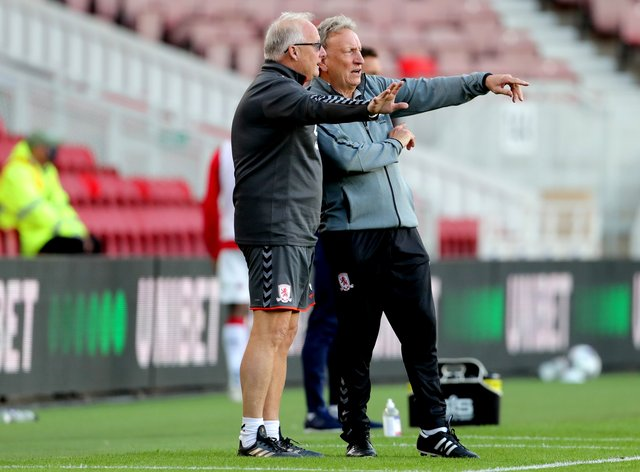 Neil Warnock, right, and Kevin Blackwell first worked together in 1986