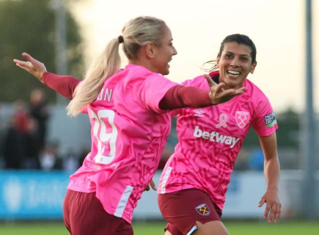 West Ham will wear pink once again throughout October