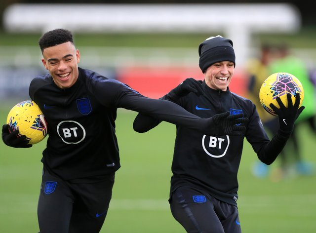Greenwood and Foden have been omitted from Southgate's squad