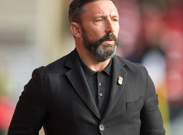 Aberdeen boss Derek McInnes is not expecting any movement in or out of Pittodrie this week