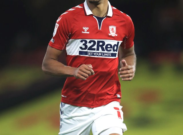 Middlesbrough striker Ashley Fletcher could return from injury to face Barnsley