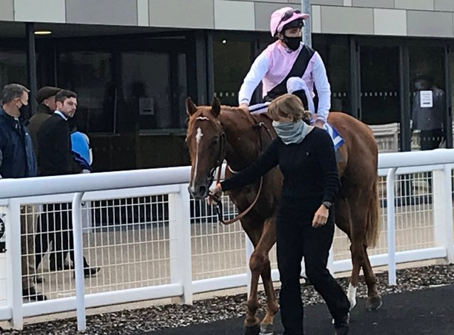 Apollo One was a winner at Salisbury for Peter Charalambous