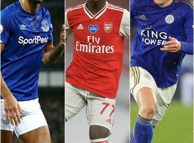 Dominic Calvert-Lewin, Bukayo Saka and Harvey Barnes earned their first senior England call-ups