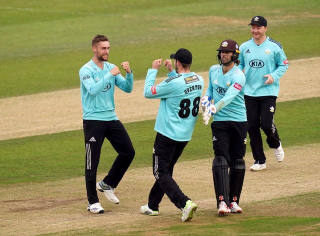 Will Jacks impressed for Surrey against Kent
