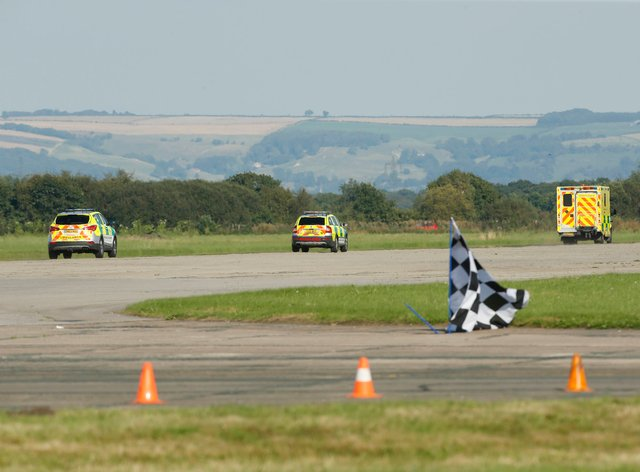 An investigation has been launched into the incident at Elvington Airfield