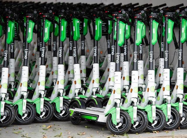 E-scooter hire scheme launch