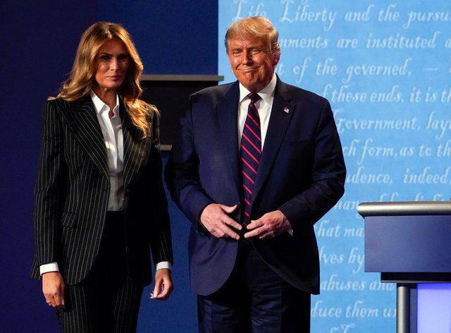 Donald and Melania Trump must now quarantine for at least ten days. Due to  his age the President is in the higher at risk group