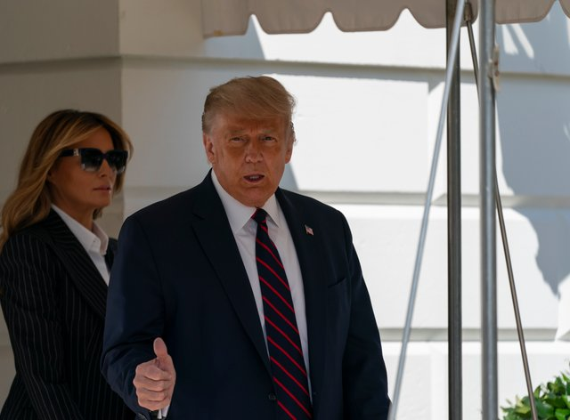 US President Donald Trump and wife Melania have tested positive for Covid-19