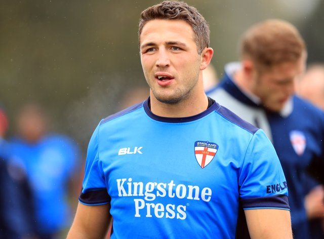 Former England rugby forward Sam Burgess is facing allegations of domestic violence and drug use