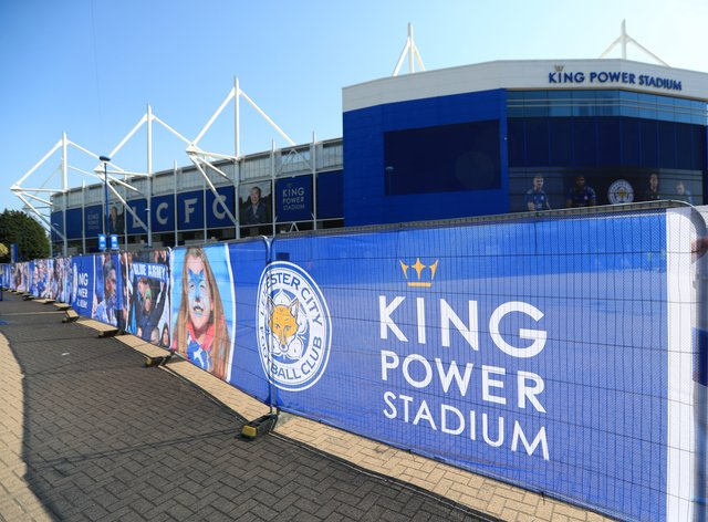 Leicester hope remaining Premier League home games will be at King Power Stadium