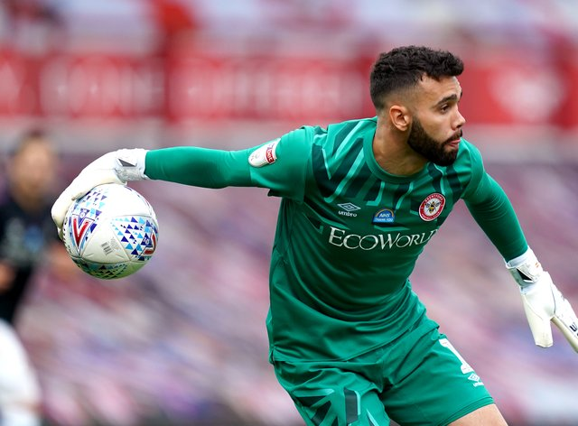 David Raya has committed his future to Brentford