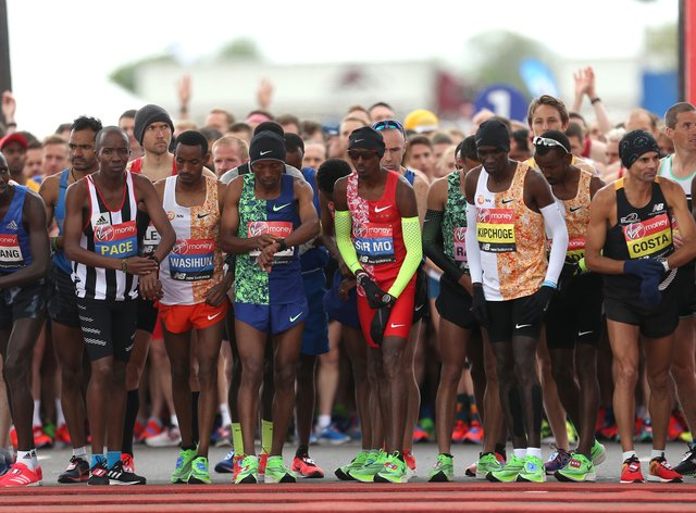 This year's event will be for elite runners only