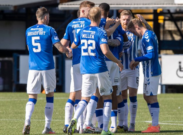 Kilmarnock's squad have been told to self-isolate