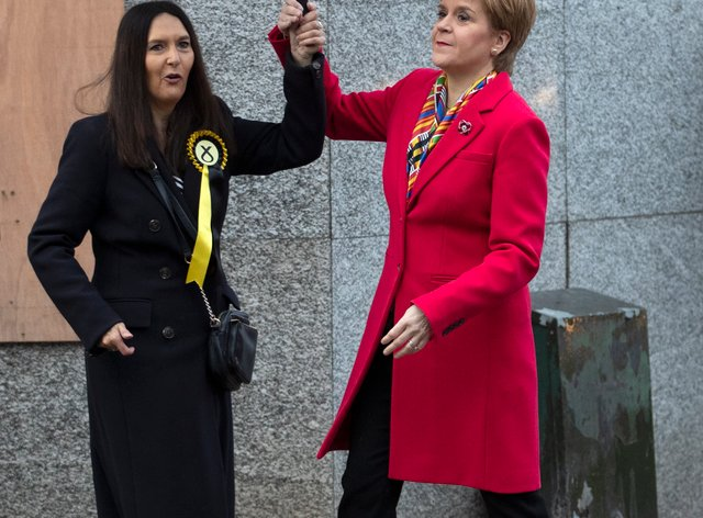 Margaret Ferrier and Nicola Sturgeon