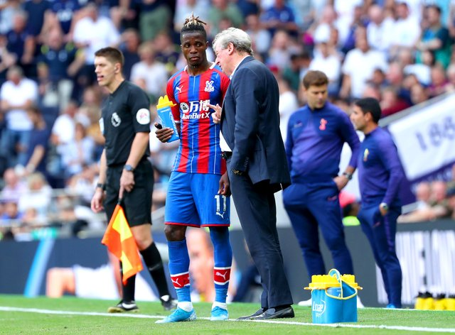 Roy Hodgson would not welcome any late bids for Crystal Palace attacker Wilfried Zaha