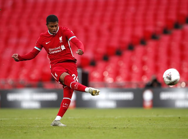 Striker Rhian Brewster is set to leave Liverpool for Sheffield United