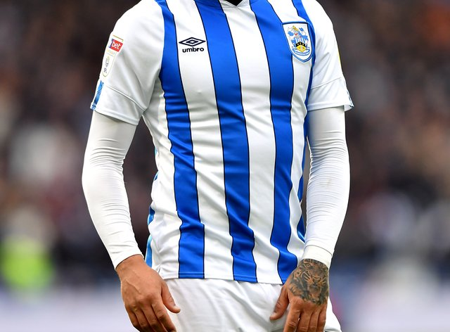 Karlan Grant scored 19 Championship goals for Huddersfield last season (Anthony Devlin/PA).