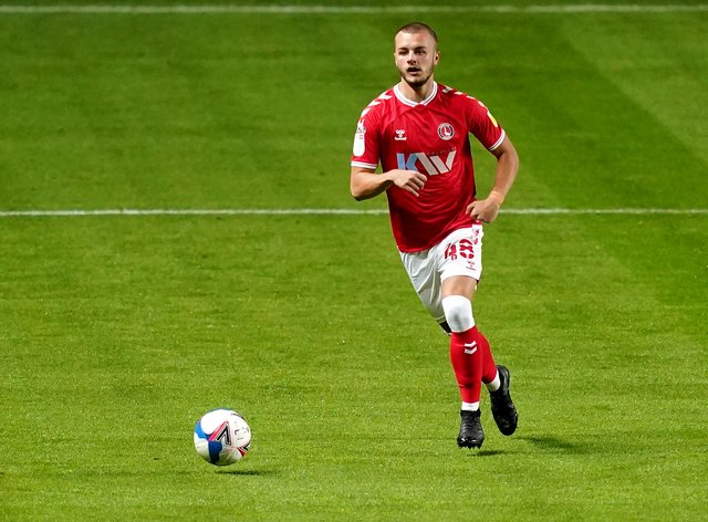 Charlie Barker has scored once in seven appearances for Charlton this season