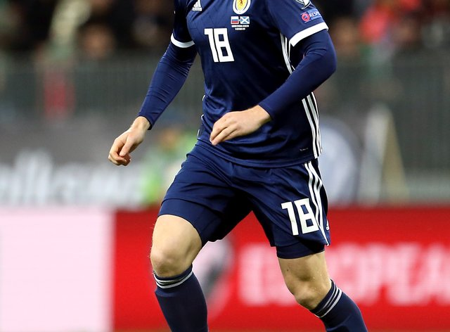 Stuart Armstrong came back injured from international duty
