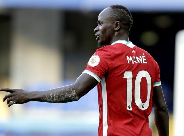 Sadio Mane is self-isolating