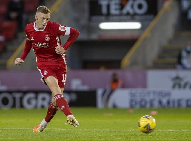 Lewis Ferguson struck late on for Aberdeen