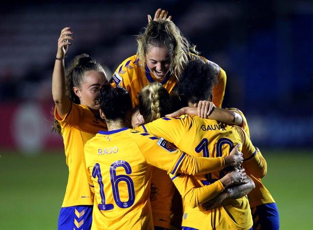 Everton earn the three points against Villa