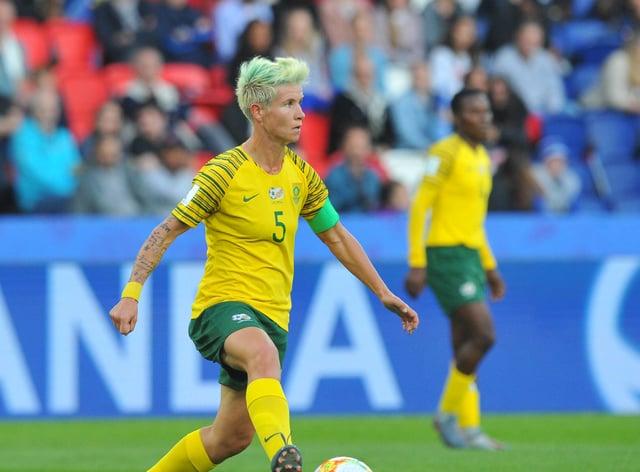Janine Van Wyk will miss the first couple of weeks of the SWPL 2020/21 season