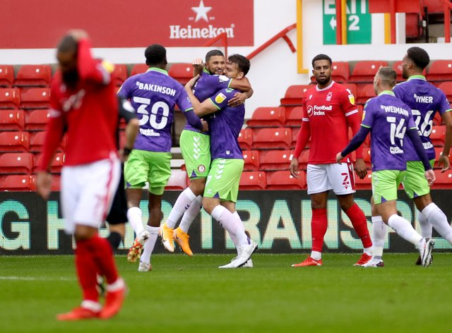 Bristol City piled pressure on Forest