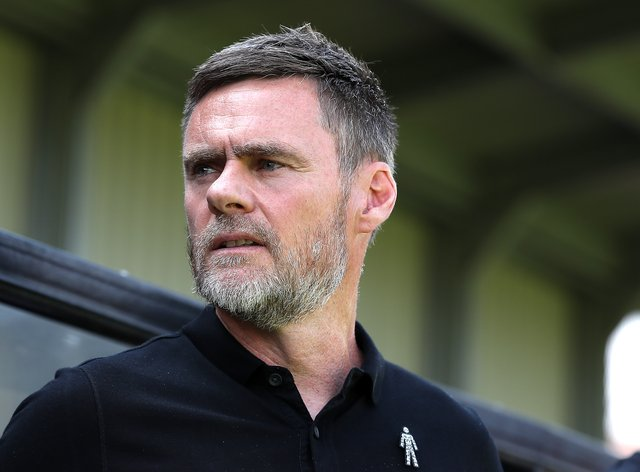 Salford manager Graham Alexander insists is still early days in the League two campaign
