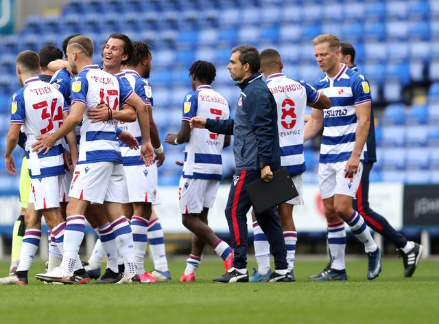 Reading maintained their perfect start