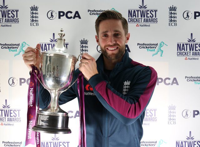 Chris Woakes is the PCA player of the year (PCA)
