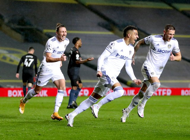 Leeds held Manchester City to a draw