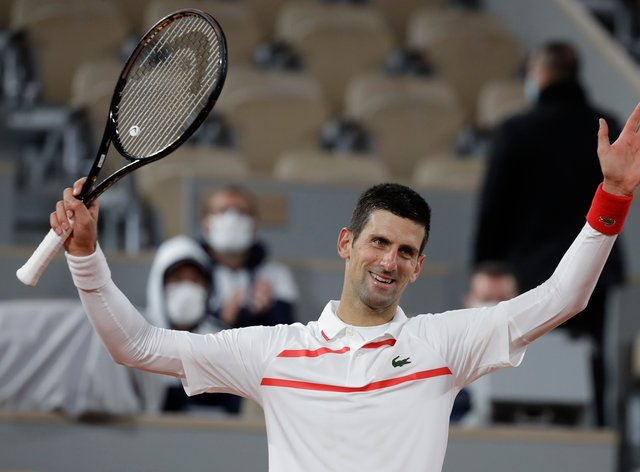 Novak Djokovic eased to another victory